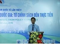 Thứ trưởng Chu Phạm Ngọc Hiển phát biểu khai mạc tại Hội thảo