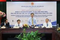 Bộ trưởng Trần Hồng Hà phát biểu khai mạc Diễn đàn