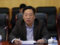 Thứ trưởng Bộ TN&MT Nguyễn Thái Lai phát biểu tại cuộc họp