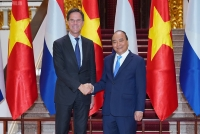 Thủ tướng Nguyễn Xuân Phúc và Thủ tướng Vương quốc Hà Lan Mark Rutte.