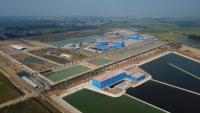 Toàn cảnh Nhà máy nước mặt sông Đuống. Ảnh: Thành Trung/BNEWS/TTXVN