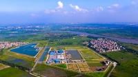 Toàn cảnh nhà máy nước mặt sông Đuống. Ảnh: Kim Lan/BNEWS/TTXVN