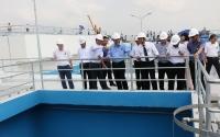 Khánh thành nhà máy nước sạch Nhị Thành, đạt chuẩn Bộ Y tế.