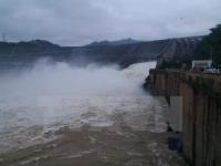 Hồ thủy điện Tuyên Quang sẽ mở 3 đợt xả nước. Ảnh minh họa: TTXVN
