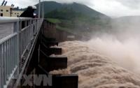 Tổng cục Thủy lợi vừa ra công điện Số: 12/CĐ-TCTL-QLCT về việc bảo đảm an toàn công trình thủy lợi và phòng, chống ngập lụt, úng cho cây trồng, đề phòng ảnh hưởng của mưa lớn ở khu vực Trung Bộ. (ảnh TTXVN)
