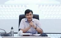 Thứ trưởng Bộ TN&MT Trần Quý Kiên phát biểu chỉ đạo tại buổi làm việc