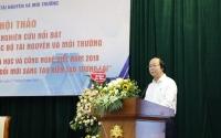 Thứ trường Võ Tuấn Nhân phát biểu tại Hội thảo