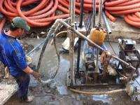 Khoan giếng ngầm lấy nước tại hộ gia đình nông thôn