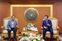 Bộ trưởng Trần Hồng Hà tiếp và làm việc ông Park Noh-wan, Đại sứ đặc mệnh toàn quyền Hàn Quốc tại Việt Nam