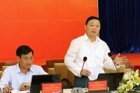 Bộ trưởng Bộ TN&MT Trần Hồng Hà phát biểu kết luận Hội nghị