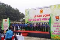 """Phong trào """"Ngày chủ nhật xanh"""" để góp phần bảo vệ môi trường đang lan tỏa tại Thừa Thiên Huế"""