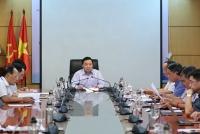 Bộ trưởng Bộ TN&MT Trần Hồng Hà chủ trì cuộc họp xây dựng định hướng chương trình thanh tra năm 2020