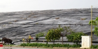 Bãi chôn lấp rác thuộc Khu Liên hợp Xử lý Chất thải Đa Phước, huyện Bình Chánh.