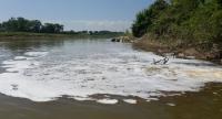 Phạt hơn 1 tỷ đồng các doanh nghiệp xả thải ra sông Đáy
