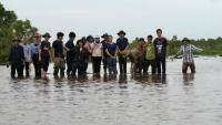 Khóa tập huấn tổ chức dành cho 20 tham dự viên từ các khu bảo tồn và vườn quốc gia khu vực đồng bằng sông Cửu Long.