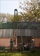 Người dân đào giếng để tìm nguồn nước tại Kabul, Afghanistan, ngày 14/11/2018. Ảnh: AFP/ TTXVN