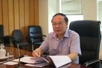Thứ trưởng Bộ TN&MT Lê Công Thành chủ trì buổi họp