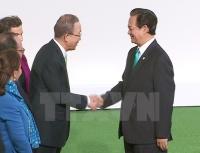 Thủ tướng Nguyễn Tấn Dũng và Tổng thư ký LHQ Ban Ki Moon