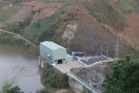 Đập thủy điện Khau Mang Thượng, xã Khau Mang, huyện Mù Cang Chải, tỉnh Yên Bái. Ảnh: Việt Dũng/TTXVN