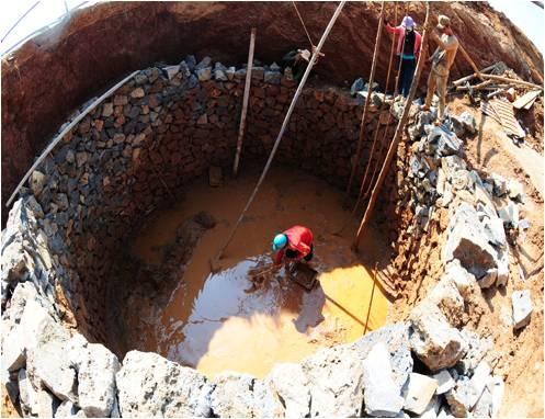 Nguồn nước ngầm đang bị ô nhiễm nghiêm trọng